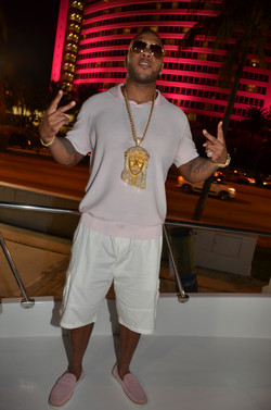 Flo Rida at Revolt Music Conference Yacht Party