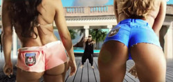 Yum Bum Shorts Product Placement - Flo Rida Video 'I Can't Believe It'