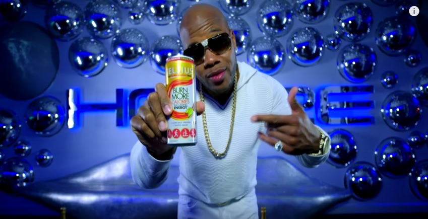 Celsius Product Placement - Flo Rida Video 'My House'