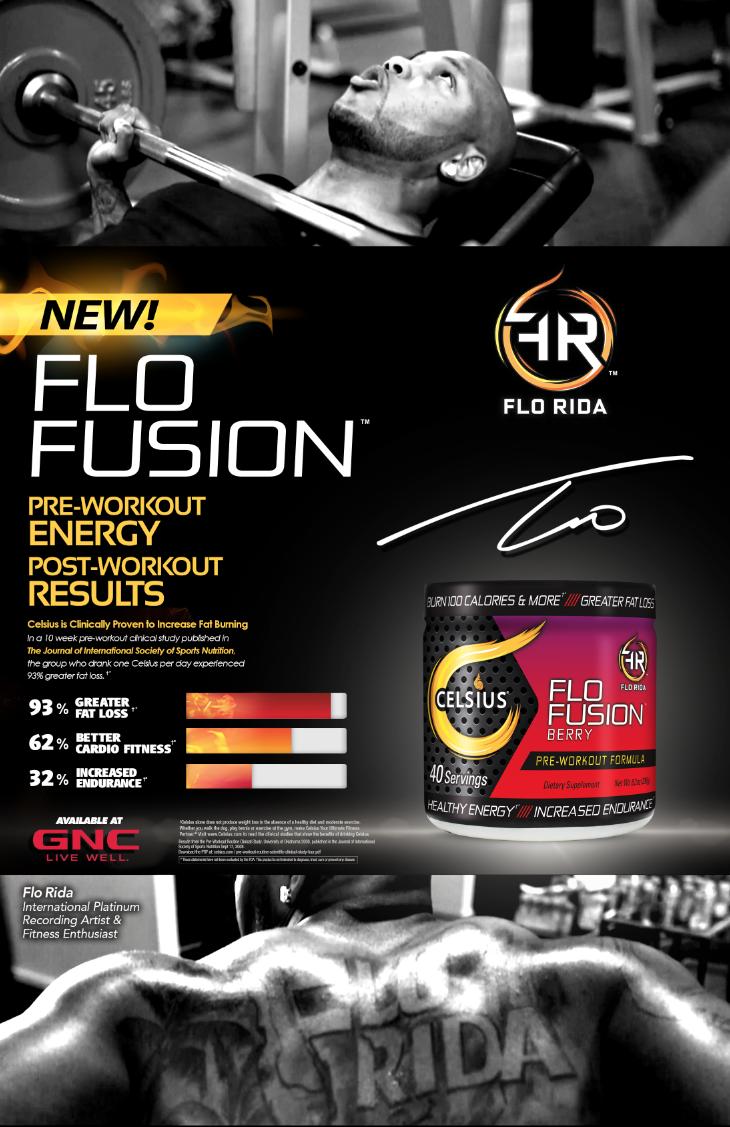 GNC - Flo RIda Event Poster