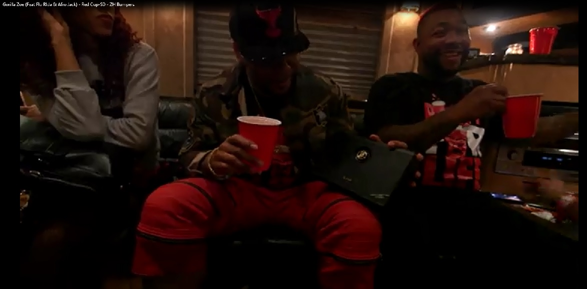 iLoud Product Placement -  Gorilla Zoe Video 'Red Cup' ft. Flo Rida