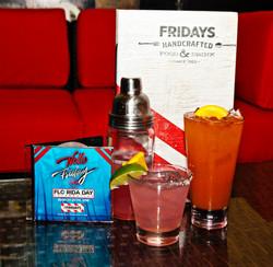 Hello Friday Specialty Drinks - Flo Rida Day in Miami Beach - TGI Fridays