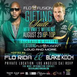 Flo Rida - Blake Koch Invitation - VMA Gifting Suite