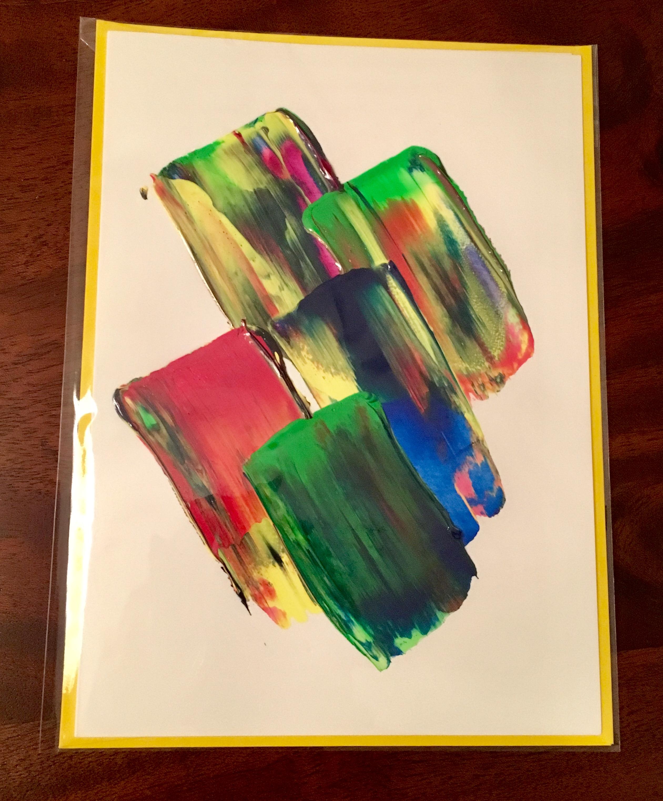 Sample packaged handmade card