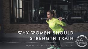 Why should women strength train?
