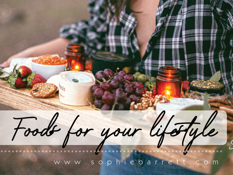 Food for your lifestyle