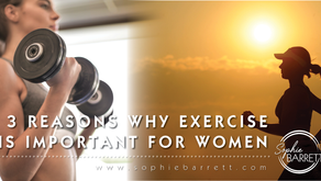 3 reasons why exercise is important for women