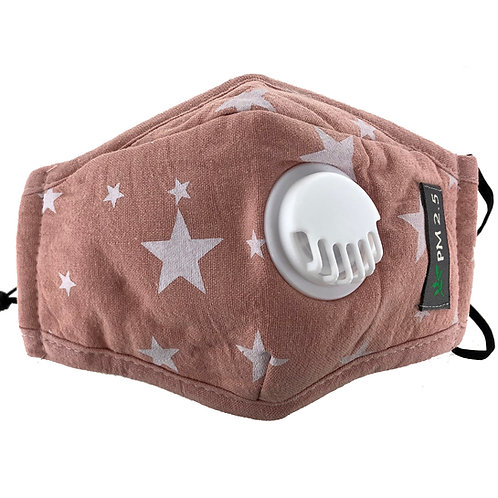 Childrens Cotton Face Mask with 5 Replaceable Filters