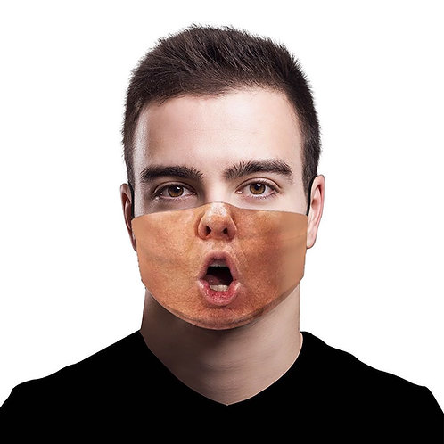 Trump Mouth Face Mask with 5 Replaceable Filters