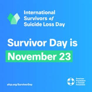 International Suicide Survivors Day