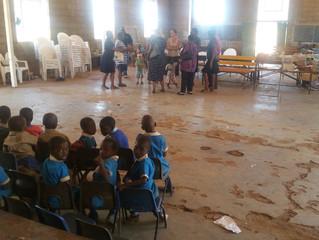 Project 2017/2018 - Hope Primary School. The School is located in Khami, Bulawayo. It has 430 studen