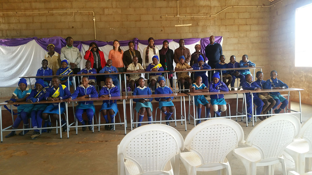 Delivery of Desks and Chairs to Hope Primary School - June, 2018