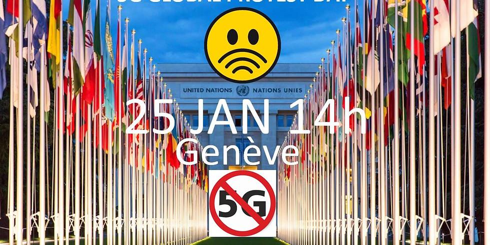 25 JAN : jour de protestation contre la 5G