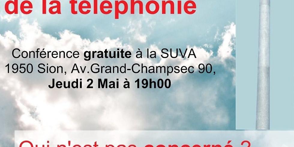 SION (SUVA) : La 5G et les dangers de la téléphonie mobile