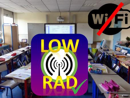 Problématique du WiFi dans les écoles