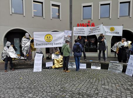 Flashmob du 15 mars à Lausanne