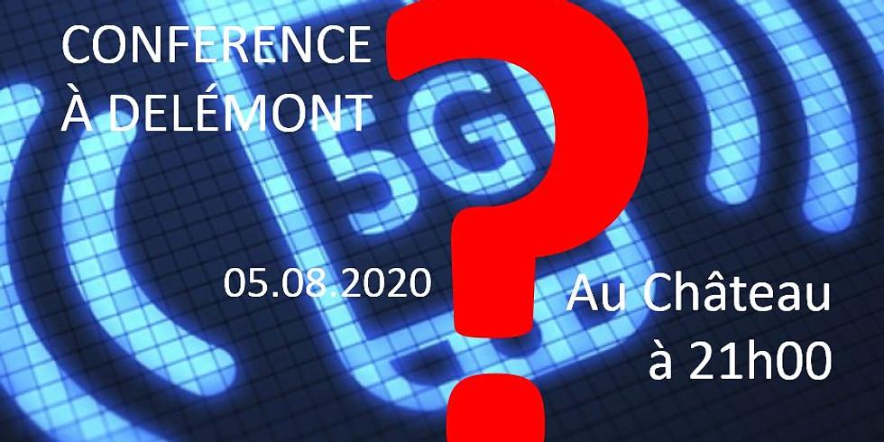 Conférence STOP5G DELÉMONT 05.08.2020 21H00