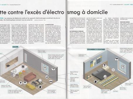 """""""Lutte contre l'excès d'électrosmog à domicile"""" - magazine BON À SAVOIR"""