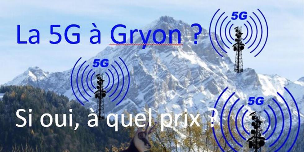 La 5G à Gryon, à quel prix ?