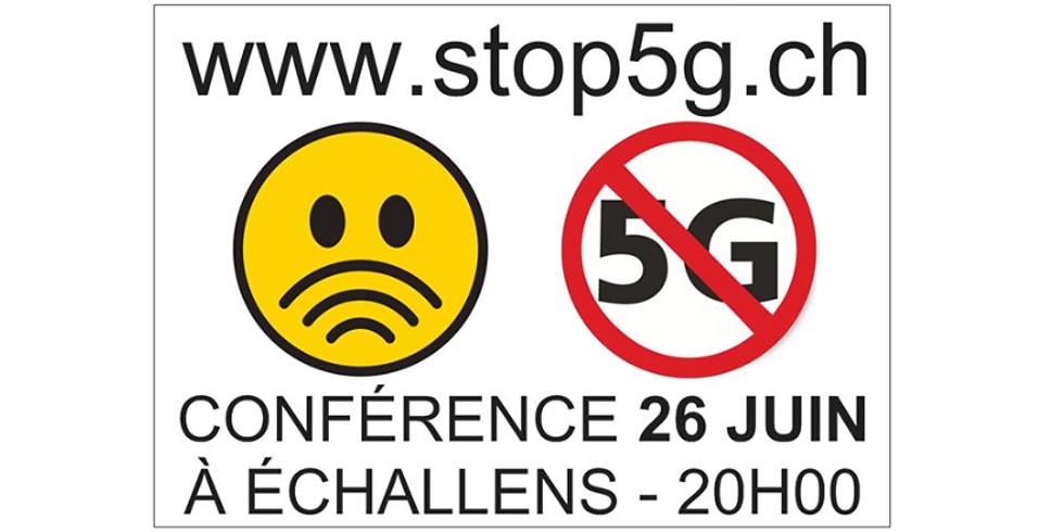 Conférence STOP 5G 26.06 à Echallens