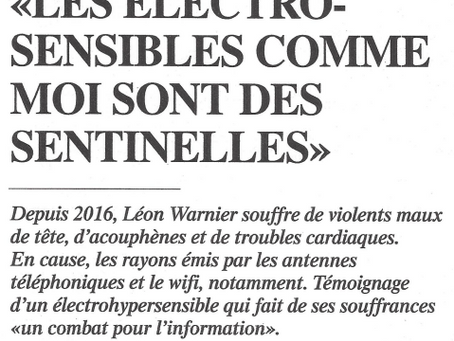 Les électrosensibles sont des sentinelles (L'Illustré)