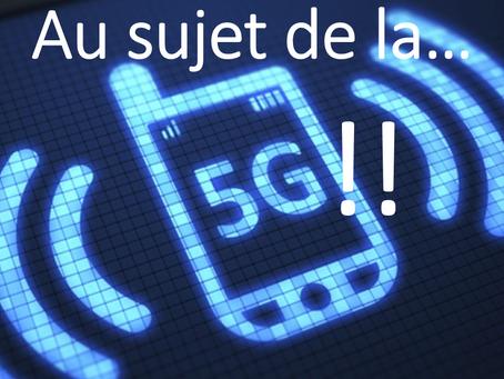 """Présentation : """"Au sujet de la 5G"""""""