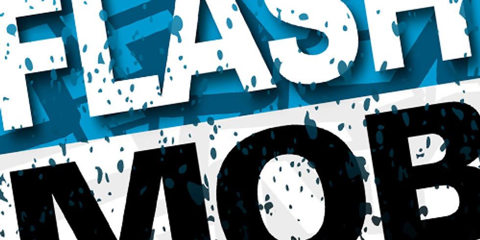 FLASH MOB LAUSANNE 15 MARS 12:00