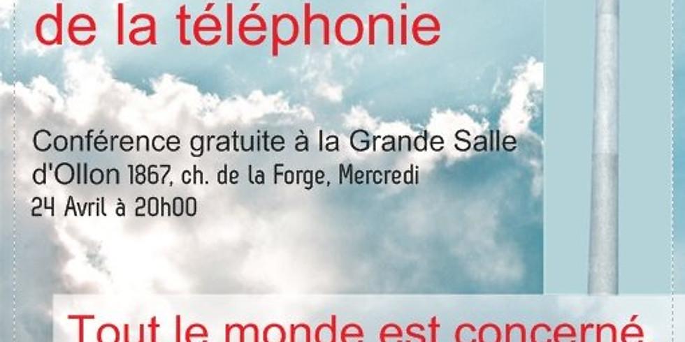 OLLON : 5G - LES DANGERS DE LA TELEPHONIE