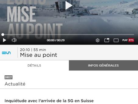 """Emission RTS """"Mise au point"""" sur la 5G, 3 mars à 20h10"""