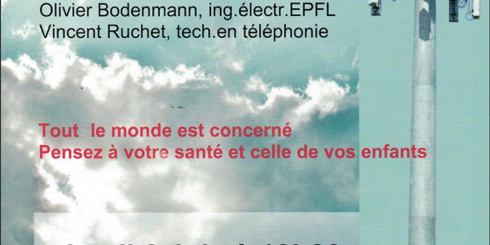 Conférence électrosmog et 5G