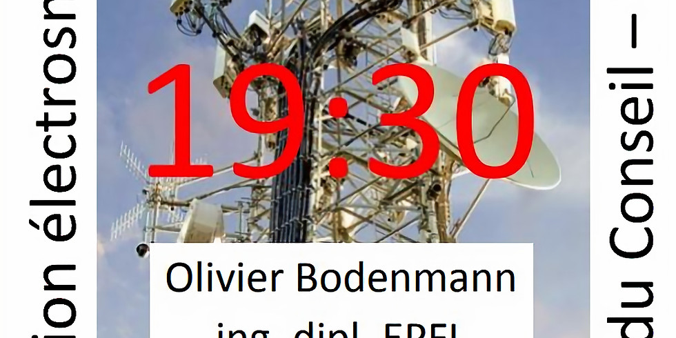 Conférence info 5G Chexbres 11.12.2019