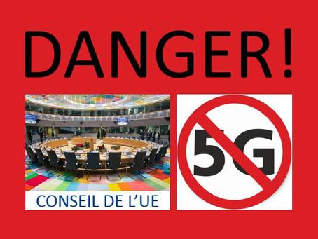 Le Conseil de l'Union Européenne veut supprimer toute opposition à la 5G