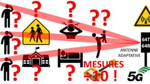 5G : FACTEUR DE REDUCTION, PUISSANCE x10 !
