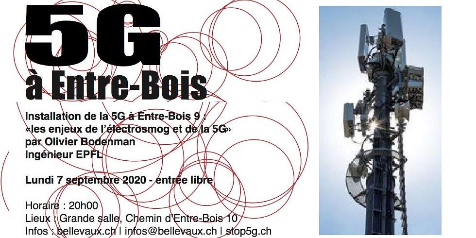 5G à Entre-Bois (Bellevaux, Lausanne)