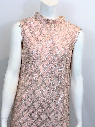 50s Lurex Column Dress