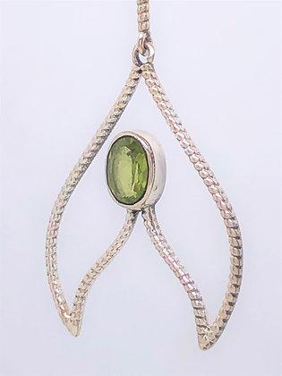 Peridot Invader Earrings .925