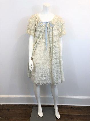 40s Elizabeth Hayes London Two Piece Set, Dress and Coat