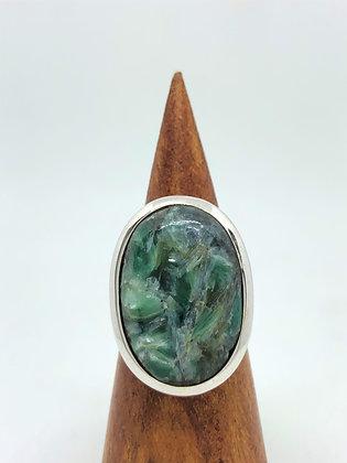 Mystic Labradorite Ring .925