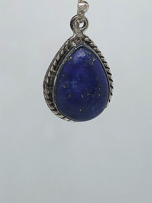 Lapis Lazuli Earrings .925