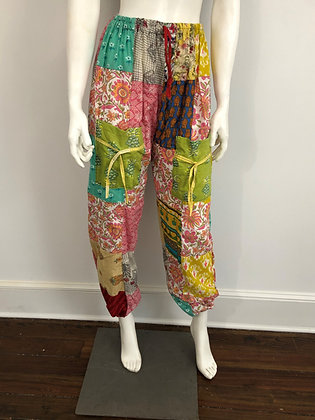Patchwork Boho Pants