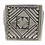 Thumbnail: Etched Square Signet Ring .925