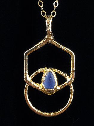 Venn Hex Circle Amulet
