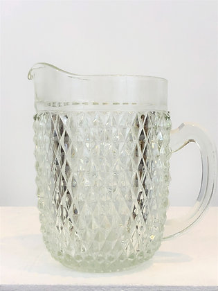 Depression Era Glass Pitcher