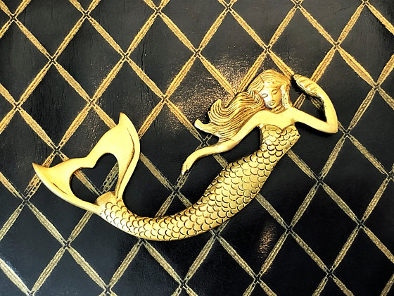 Brass Mermaid Bottle Opener