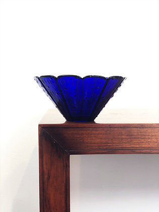 Deep Cobalt Glass Bowl