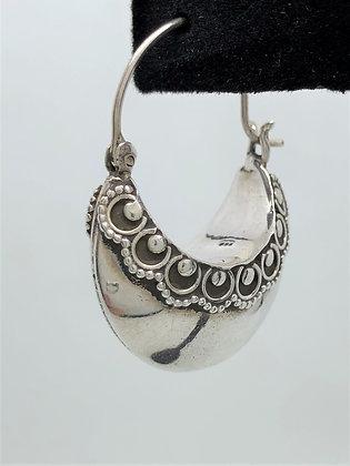 Collar Cuff Earrings .925