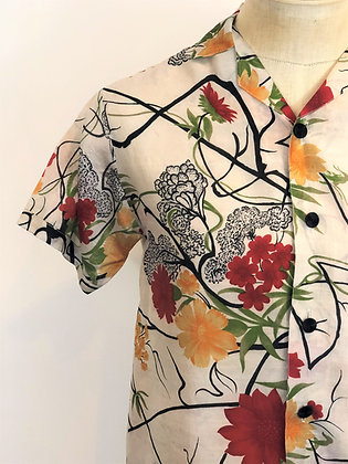 NYSOM Button Up Shirt Floral