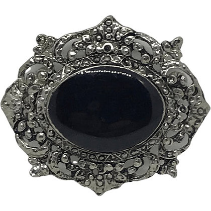 80s Victorian Style Brooch