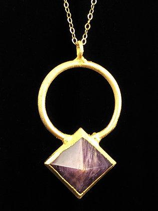 Ring Pyramid Pendant