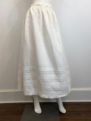 Victorian Cotton Skirt